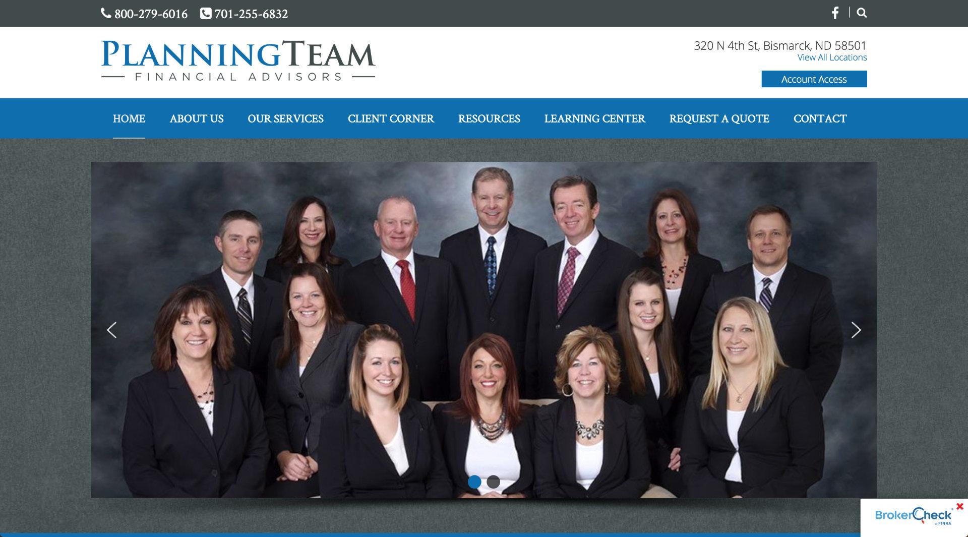 Planning Team Financial Advisors