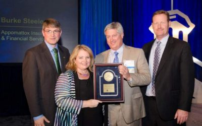 Appomattox honored by Erie Insurance for growth and profitability