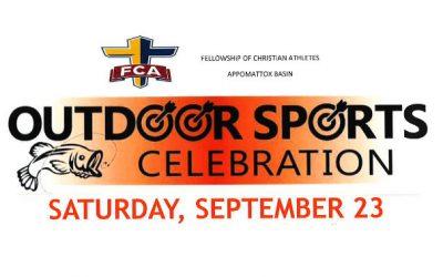 FCA Outdoor Sports Celebration: September 23, 2017