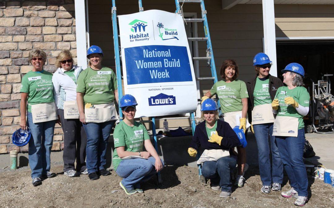 2016 Habitat for Humanity of Loveland's Women Build